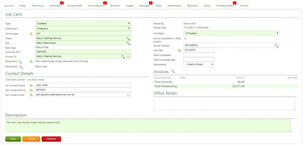 Job Scheduling Management